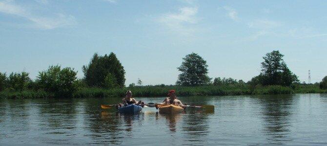 Spływy kajakowe rzeką Pilicą